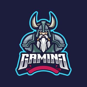 Maskotka logo wikingów