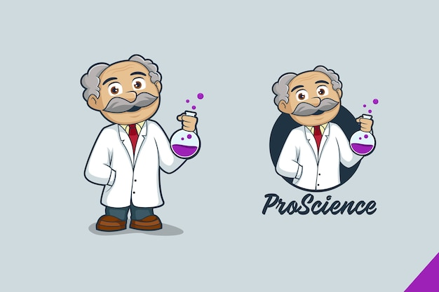 Maskotka naukowiec
