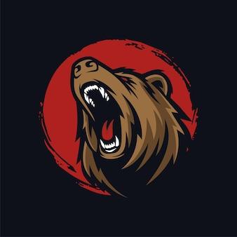 Maskotka niedźwiedzia grizzly