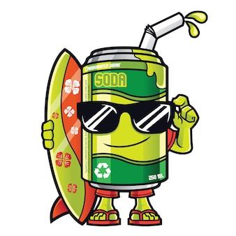 Maskotka soda can