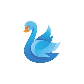 Maskotka swan goose wing