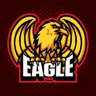 Maskotki eagle