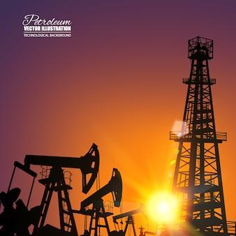 Maszyna przemysłowa z pompą oleju