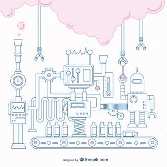 Maszyna złożona szkic