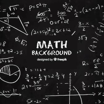 Matematyka realistyczne tablica tło