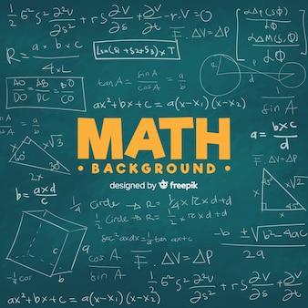 Matematyki chalkboard tło