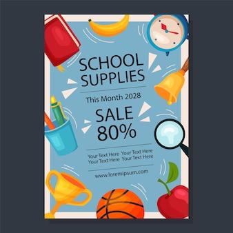 Materiały promocyjne dotyczące układu szkoły zdobią przedmiot szkolny