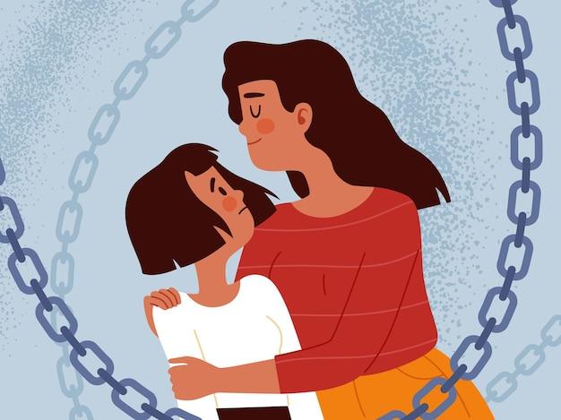 Matka z wielkiej miłości nadmiernie chroni córkę i ogranicza jej wolność