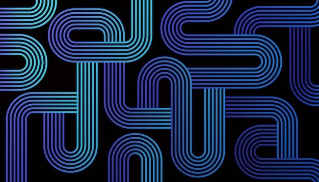 Maze Lines Abstract Darmowych Wektorów