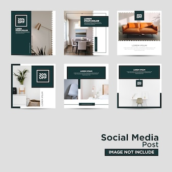 Meble social media template