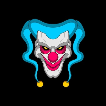 Mecha clown head