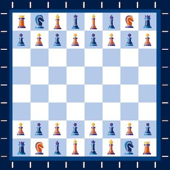 Mecz gry w szachy