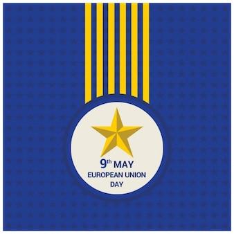 Medal dzień unii europejskiej