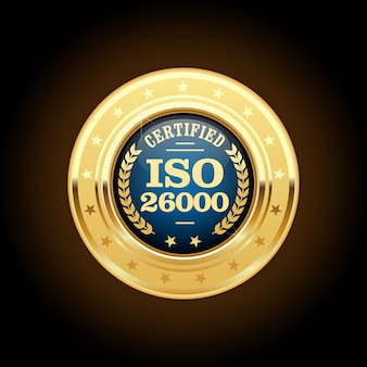 Medal normy iso 26000 - odpowiedzialność społeczna