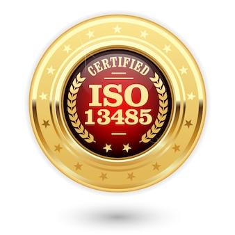 Medal z certyfikatem iso 13485 - wyroby medyczne