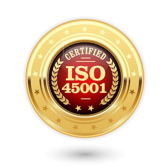 Medal z certyfikatem iso 45001