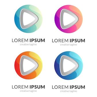 Media play i koncepcja logo list