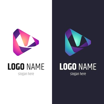 Media play list m. logo