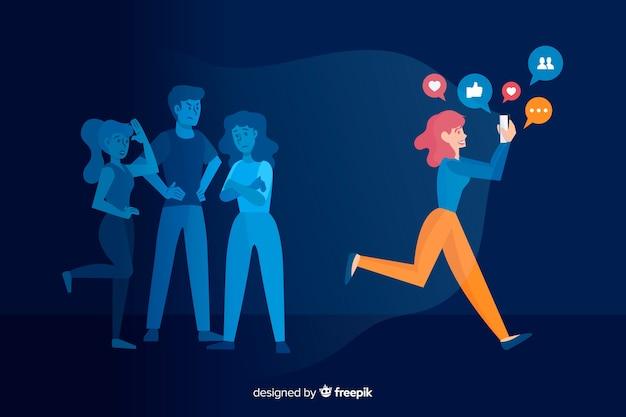 Media społecznościowe zabijają pojęcie przyjaźni
