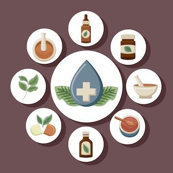 Medycyna alternatywna dziewięć elementów