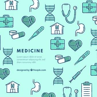Medycyna elementy tła