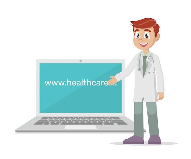 Medycyna internetowa.