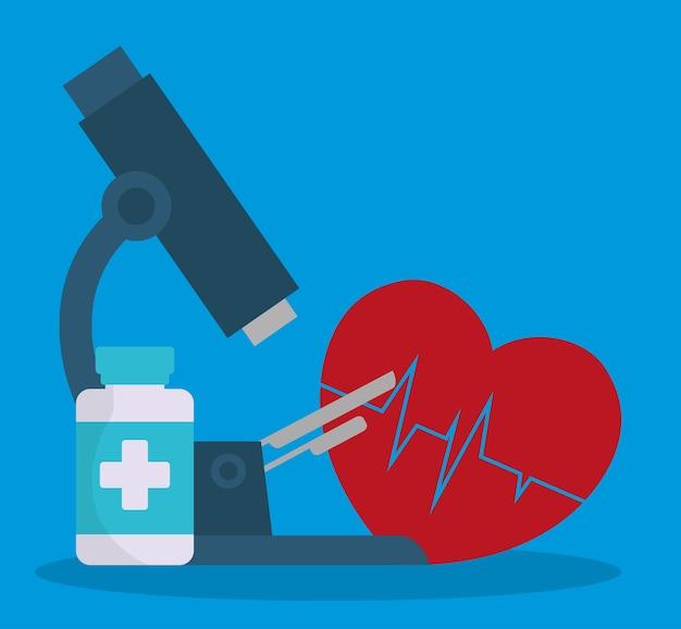 Medycyna lub leki obraz ikony opieki medycznej