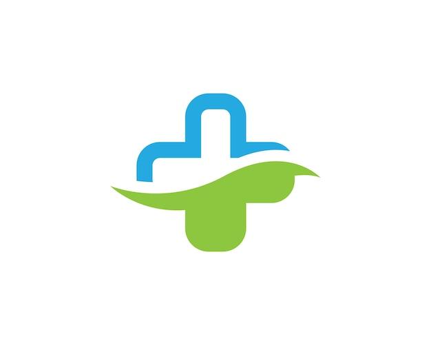 Medycyna medyczna logo szablonu ilustracji wektorowych projektowania