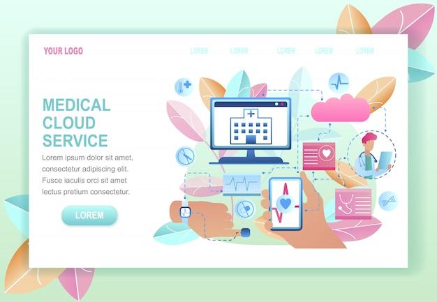 Medyczna usługa chmurowa