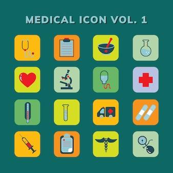 Medyczny ikona wektor