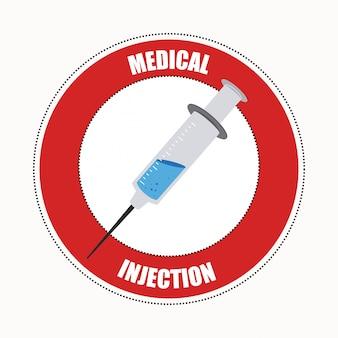 Medyczny projekt ilustracja