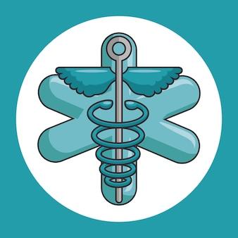 Medyczny symbol kaduceusz