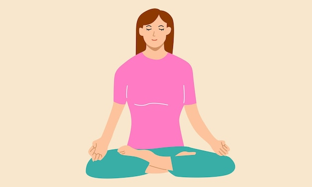 Medytacja relaks w domu praktyka duchowa joga i ćwiczenia oddechowe