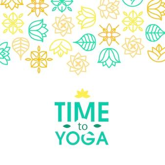 Medytacja zen cytat na tle organicznych tekstur