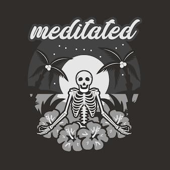 Medytował