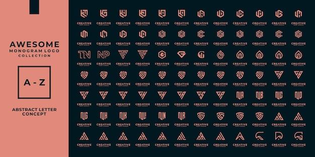 Mega kolekcja monogramów z logo