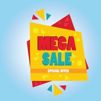 Mega sprzedaż oferta specjalna banner