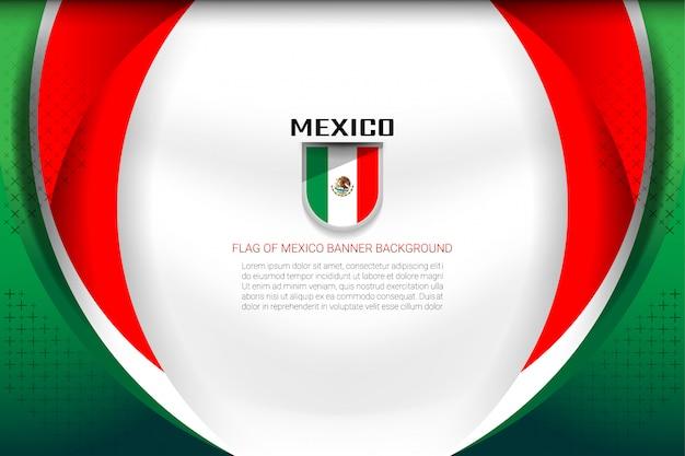 Meksyk flaga tło