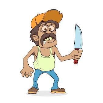 Meksykanin z nożem