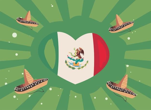 Meksykański plakat upamiętniający