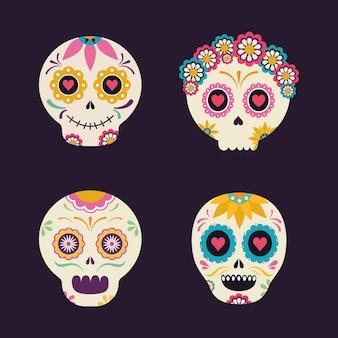 Meksykańskie głowy czaszek, motyw kultury meksykańskiej