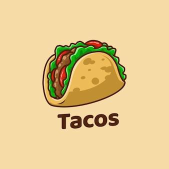 Meksykańskie jedzenie taco pyszne meksykańskie