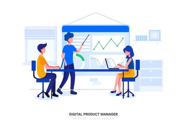 Menedżer produktu cyfrowego