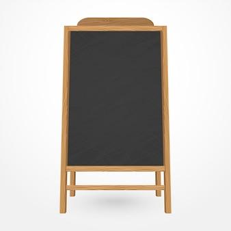 Menu kawiarni drewniane tablica