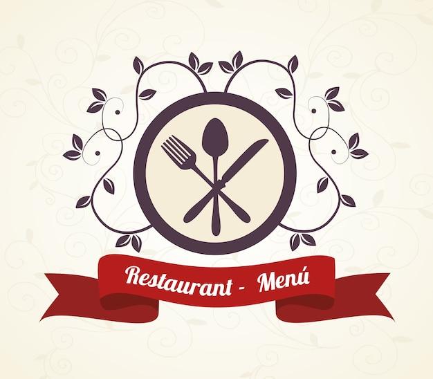 Menu restauracji