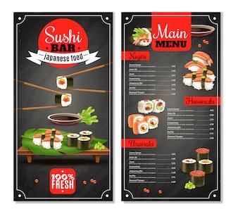 Menu Sushi Bar