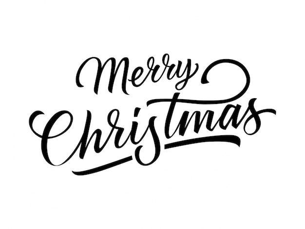 Merry christmas napis