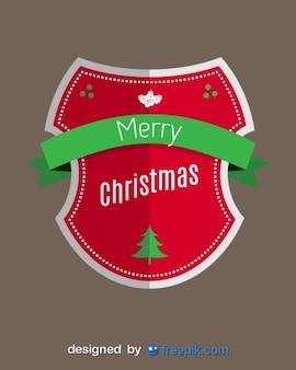 Merry christmas shield
