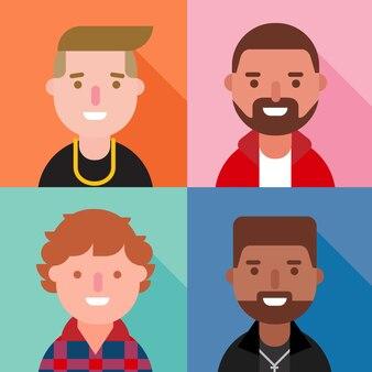 Męskie postacie z kreskówek