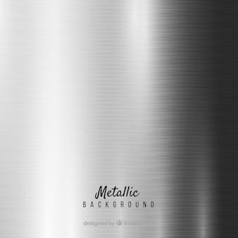 Metaliczne srebrne tło